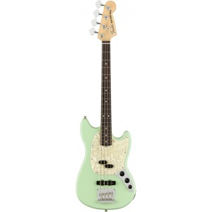 FENDER AMERICAN PERFORMER MUSTANG BASS SS GREEN RW