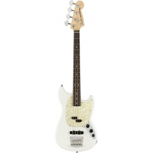 FENDER AMERICAN PERFORMER MUSTANG BASS ARCTIC WHITE RW