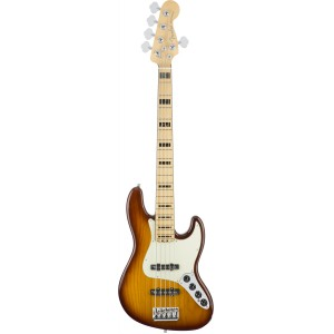 FENDER AMERICAN ELITE JAZZ BASS V TOBACCO SB MP