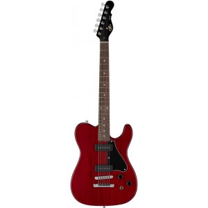G&L ASAT JUNIOR II TRIBUTE ROJO TRANSPARENTE