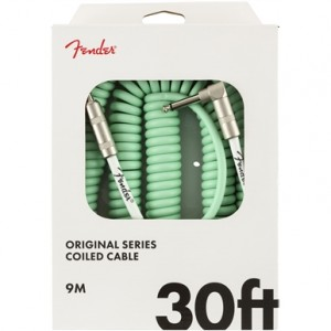 FENDER CABLE ORIGINAL SERIES SURF GREEN 9 M