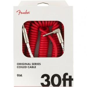 FENDER CABLE ORIGINAL SERIES FIESTA RED 9 M