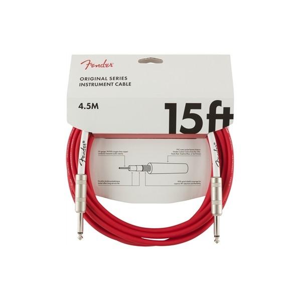 FENDER CABLE ORIGINAL SERIES FIESTA RED 4,5M