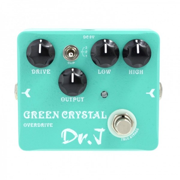 JOYO DR. J OVERDRIVE GREEN CRYSTAL