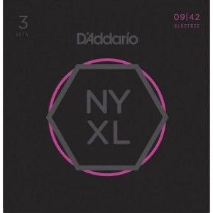 DADDARIO NYXL 09-42 PACK 3 JUEGOS