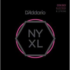 DADDARIO NYXL 09-80 8 CUERDAS