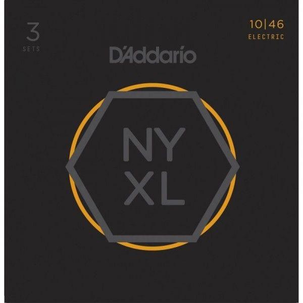 DADDARIO NYXL10-46 PACK 3 JUEGOS