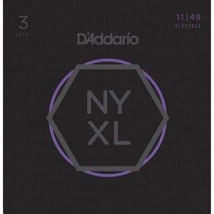 DADDARIO NYXL 11-49 PACK 3 JUEGOS