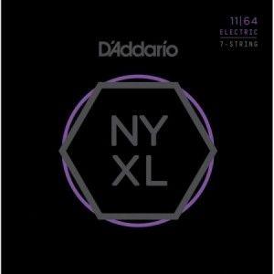 DADDARIO NYXL 11-64 7 CUERDAS
