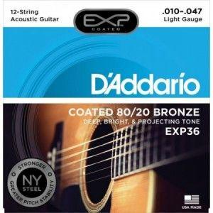 DADDARIO EXP36 010-047 12 CUERDAS