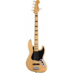 SQUIER CLASSIC VIBE 70 JAZZ BASS V NATURAL MP 5 CUERDAS