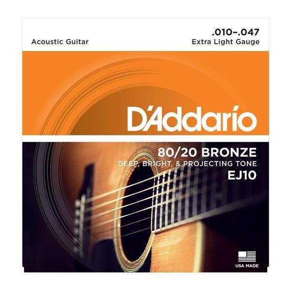 DADDARIO EJ10 010-047