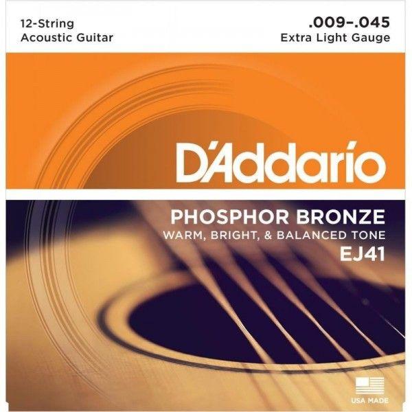 DADDARIO EJ41 09-045 12 CUERDAS