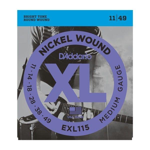 DADDARIO EXL115 11-49