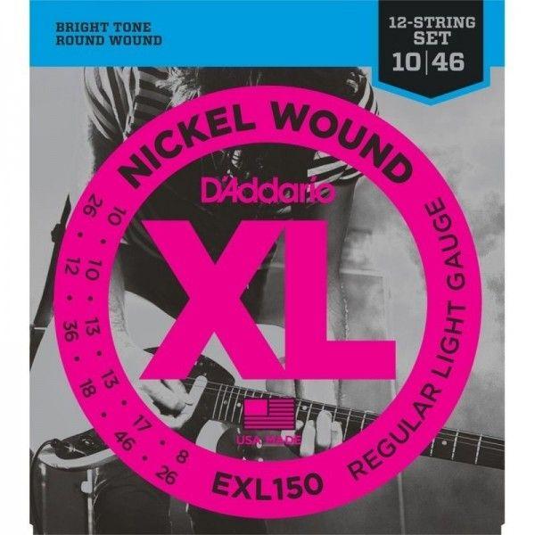 DADDARIO EXL150 12 CUERDAS