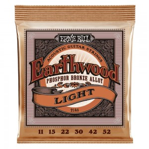ERNIE BALL EARTHWOOD PHO/BZ LIGHT 11-52