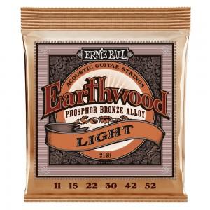 ERNIE BALL EARTHWOOD PHO/BZ LIGHT 11-52
