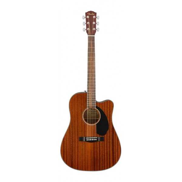 FENDER CD-60SCE DREADNOUGHT ALL MAHOGANY WN