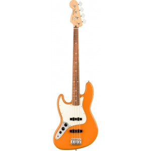 FENDER PLAYER JAZZ BASS CAPRI ORANGE PF ZURDO