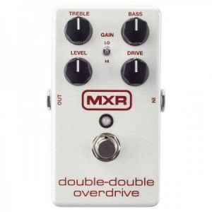 MXR DOUBLE DOUBLE OVERDRIVE M250