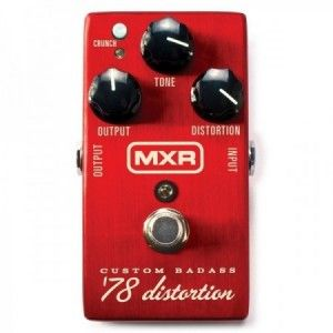 MXR CUSTOM BADASS 78 DISTORTION M78