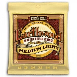 ERNIE BALL EARTHWOOD BRONCE 12-54