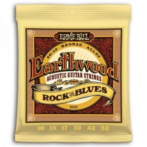 ERNIE BALL EARTHWOOD BRONCE R&B 10-52