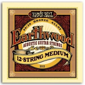 ERNIE BALL EARTHWOOD BZ MEDIUM 11-52. 12 CUERDAS