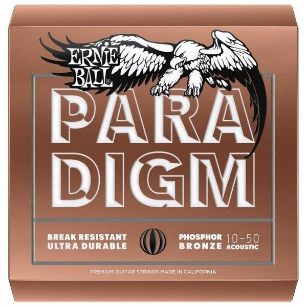 ERNIE BALL PARADIGM PHOSPHOR BRONZE 10-50