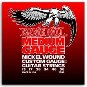 ERNIE BALL NICKEL WOUND CUSTOM GAUGE 13-56