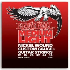 ERNIE BALL NICKEL WOUND CUSTOM GAUGE 12-54