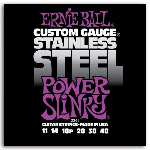 ERNIE BALL SLINKY S STEEL POWER 11-48