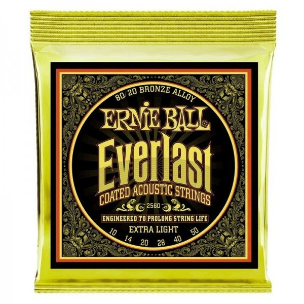 ERNIE BALL EVERLAST BZ EXTRALIGHT 10-50