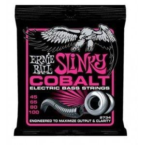 ERNIE BALL SLINKY COBALT SUPER 45-100