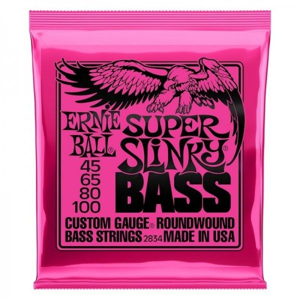 ERNIE BALL SLINKY SUPER 45-100