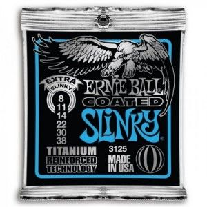 ERNIE BALL SLINKY TITANIUM EXTRA 8-38