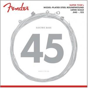 FENDER 7250 NPS ROUNDWOUND M 45-125 5 CUERDAS