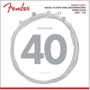 FENDER 7250 NPS ROUNDWOUND L 40-125 5 CUERDAS