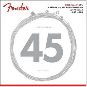 FENDER 7150 PURE NICKEL ROUNDWOUND ML 45-100