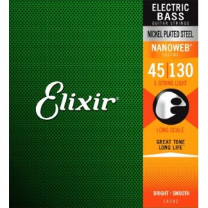 ELIXIR NANOWEB ML 45-130 5 CUERDAS