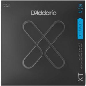 DADDARIO XTA BR 10-47 12 CUERDAS