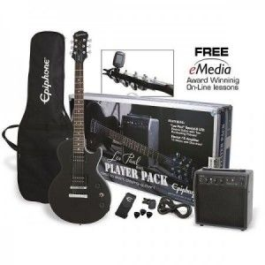 EPIPHONE LES PAUL PLAYER PACK NEGRO