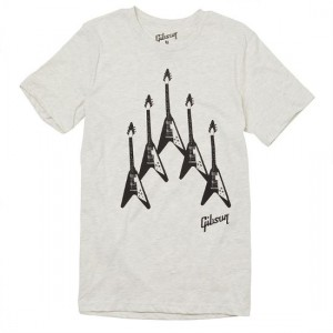 GIBSON FLYING V FORMATION TEE XL