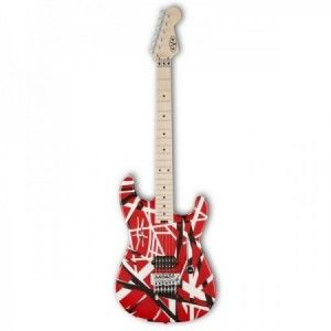 EVH STRIPED RED MP