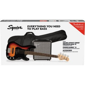 SQUIER PACK PRECISION 3T SB AFFINITY Y RUMBLE 15