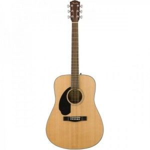 FENDER CD 60S NATURAL ZURDO
