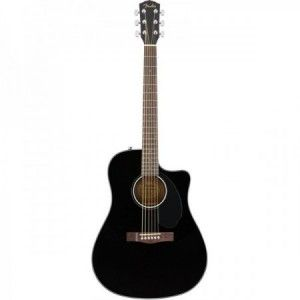FENDER CD 60S CE NEGRA