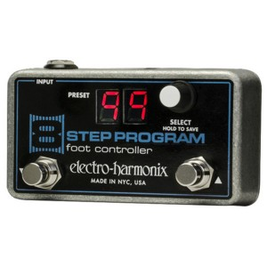 ELECTRO HARMONIX 8 STEP PROGRAM FOOT CONTROLLER