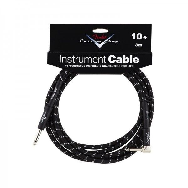 FENDER CABLE CUSTOM SHOP 3M ACODADO