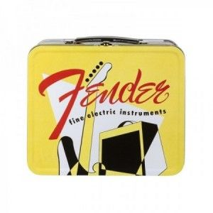 FENDER LUNCH BOX VINTAGE METÁLICA